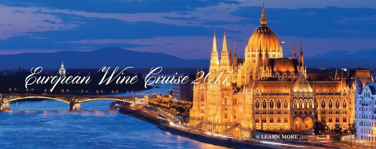 Join us for a European Wine Cruise in November of 2017.